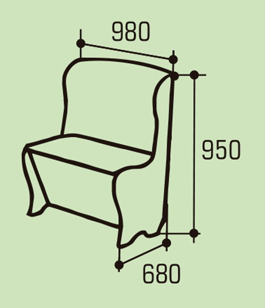 """Мягкое кухонное кресло """"Версаль"""""""