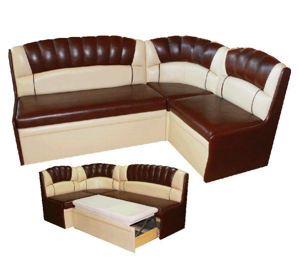 Кухонный диван Модерн 2 ДУ